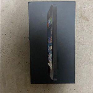 Apple iPhone 5 black, 32 GB, original box only